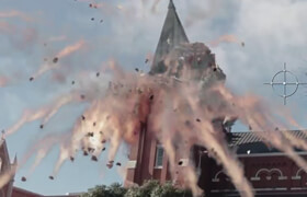 Houdini Nuke Training - Blow Up The Chapel