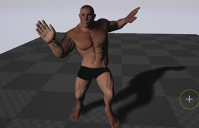 Skillshare - Create an Adobe Fuse Character Add Mixamo Animation Then Animate In Unreal Engine 4 by Michael Ricks