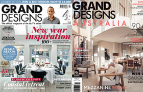 Architectural and interior magazines Grand Designs 2015-2016