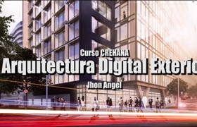 Exterior Digital Architecture With  From Scratch (Español)